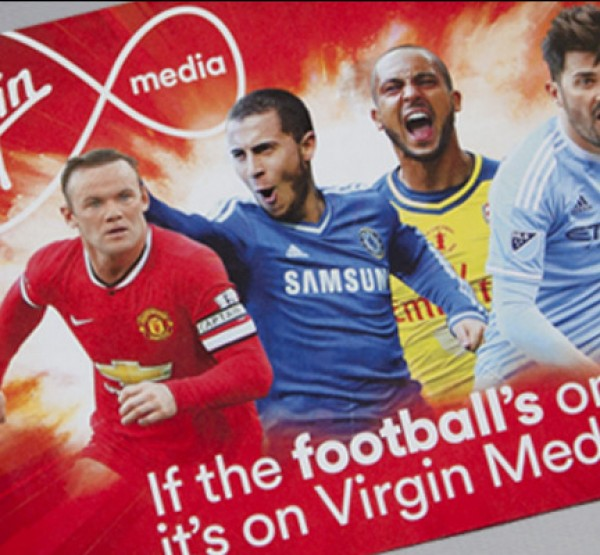 Virgin Media- Football promotional leaflet