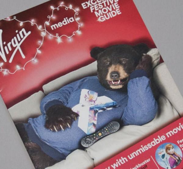 Virgin Media – Christmas mailing